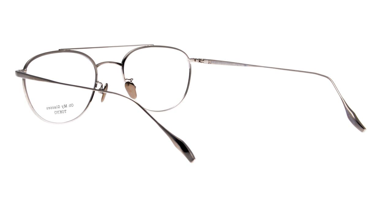 Oh My Glasses TOKYO Herbie-omg-123ーNVー50 [メタル/鯖江産/ティアドロップ/青]  3