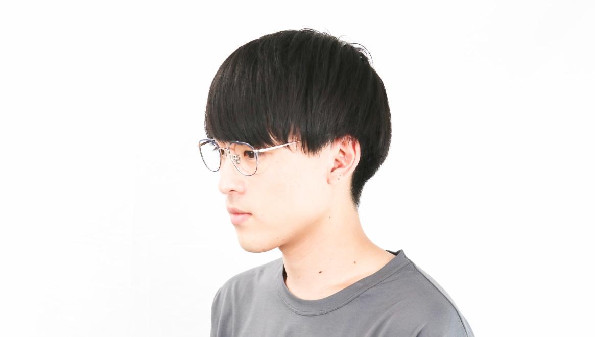 Oh My Glasses TOKYO Herbie omg-123-NV-50 [メタル/鯖江産/ティアドロップ/青]  6