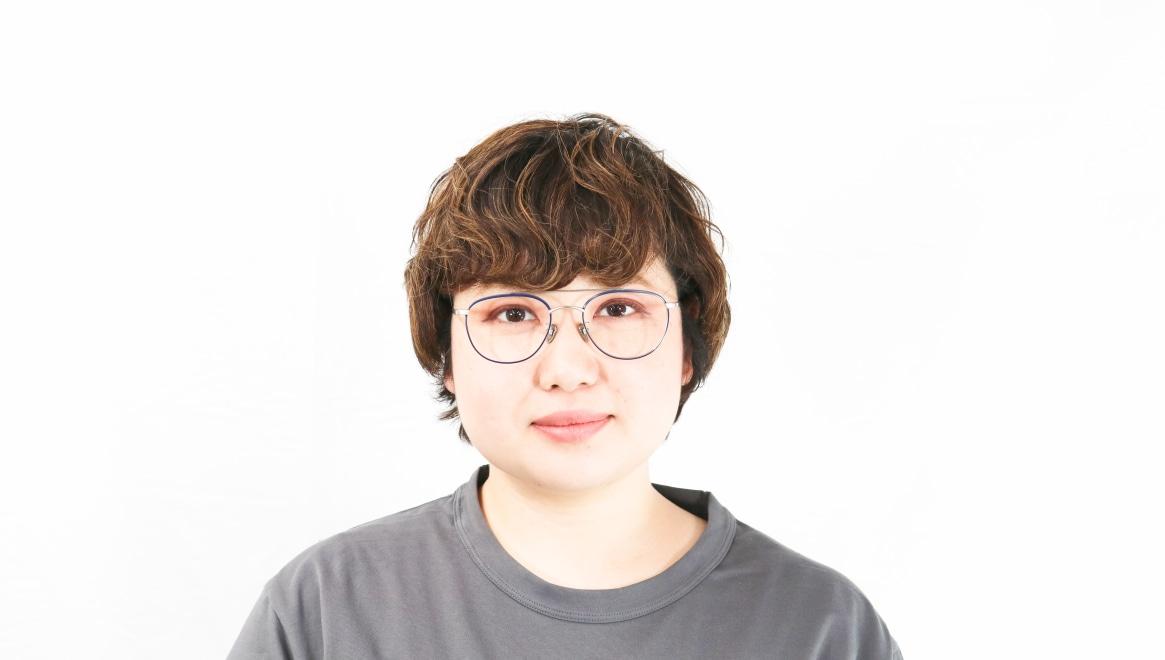 Oh My Glasses TOKYO Herbie omg-123-NV-50 [メタル/鯖江産/ティアドロップ/青]  7