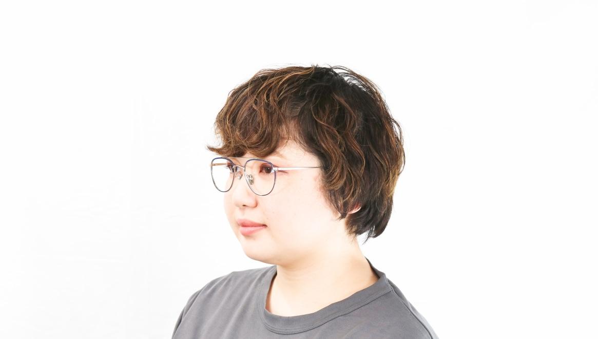 Oh My Glasses TOKYO Herbie omg-123-NV-50 [メタル/鯖江産/ティアドロップ/青]  8
