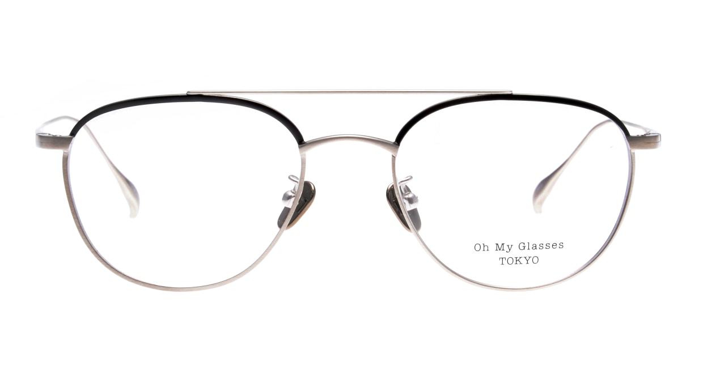Oh My Glasses TOKYO Herbie-omg-123ーBKSー50 [メタル/鯖江産/ティアドロップ]