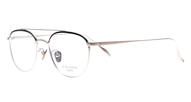 Oh My Glasses TOKYO Herbie-omg-123ーBKSー50 [メタル/鯖江産/ティアドロップ]  1