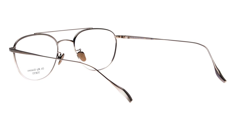 Oh My Glasses TOKYO Herbie-omg-123ーBKSー50 [メタル/鯖江産/ティアドロップ]  3