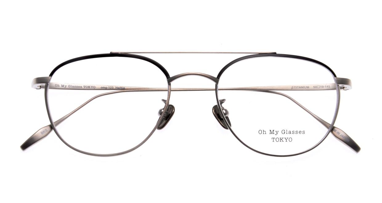 Oh My Glasses TOKYO Herbie-omg-123ーBKSー50 [メタル/鯖江産/ティアドロップ]  4