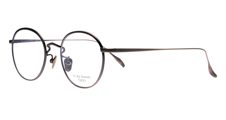 Oh My Glasses TOKYO Wayne-omg-124ーATSー47 [メタル/鯖江産/丸メガネ/シルバー]  1