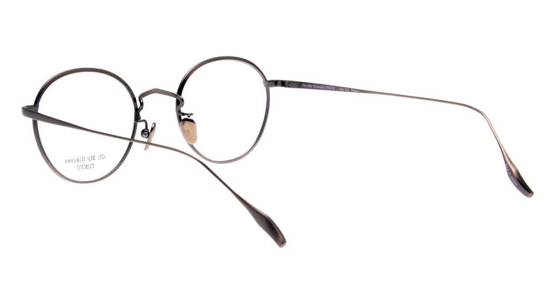 Oh My Glasses TOKYO Wayne-omg-124ーATSー47 [メタル/鯖江産/丸メガネ/シルバー]  3