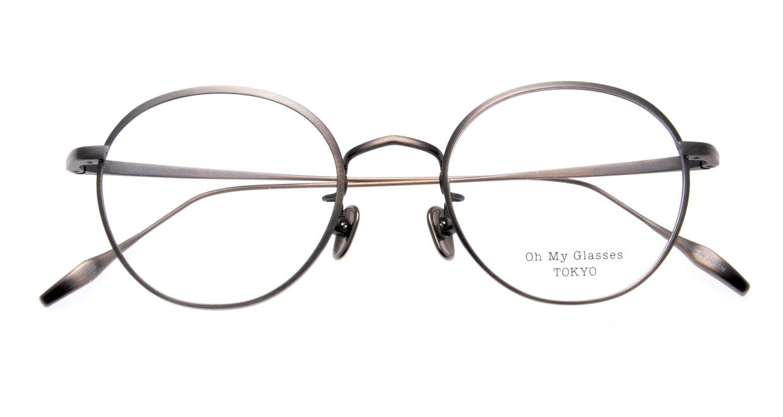 Oh My Glasses TOKYO Wayne-omg-124ーATSー47 [メタル/鯖江産/丸メガネ/シルバー]  4