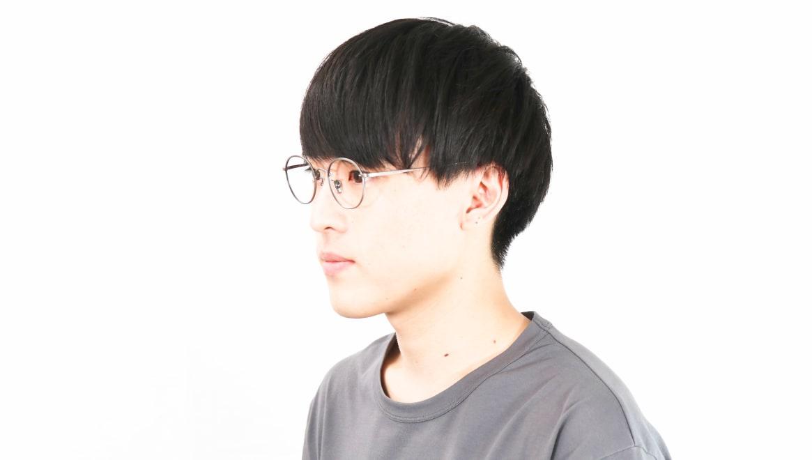 Oh My Glasses TOKYO Wayne-omg-124ーATSー47 [メタル/鯖江産/丸メガネ/シルバー]  6