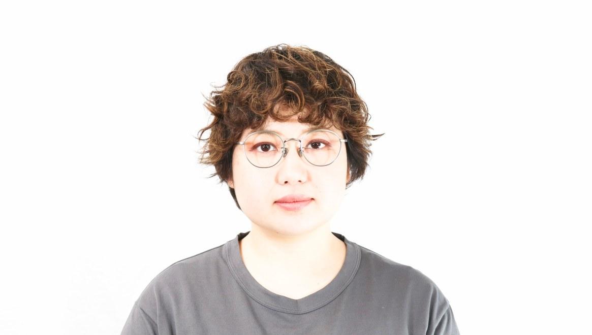 Oh My Glasses TOKYO Wayne-omg-124ーATSー47 [メタル/鯖江産/丸メガネ/シルバー]  7