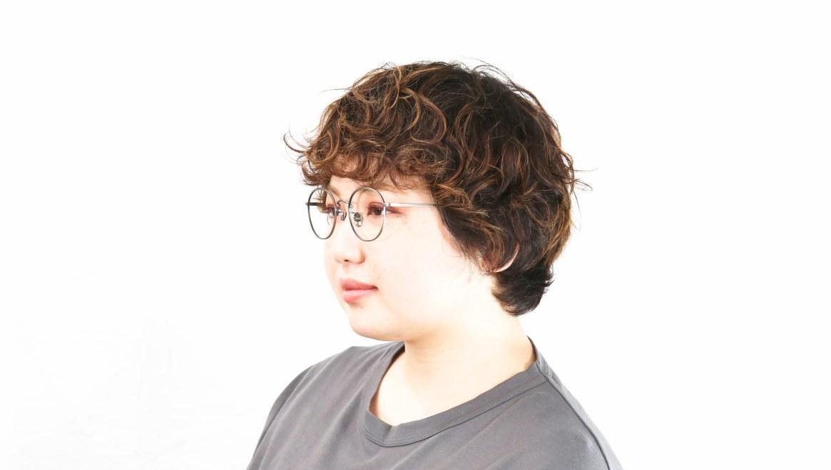 Oh My Glasses TOKYO Wayne-omg-124ーATSー47 [メタル/鯖江産/丸メガネ/シルバー]  8