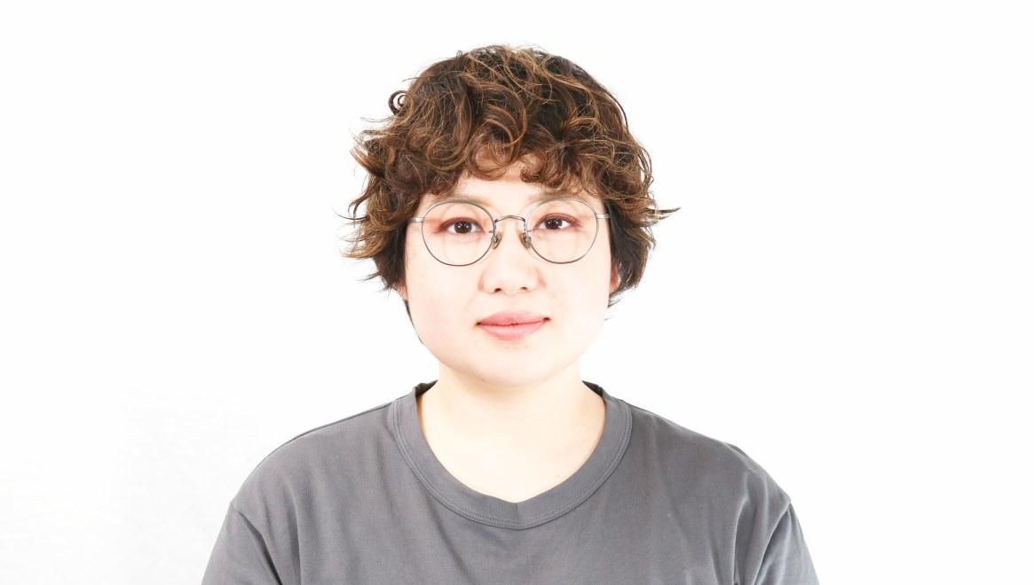 Oh My Glasses TOKYO Wayne omg-124-ATBR-47 [メタル/鯖江産/丸メガネ/茶色]  7