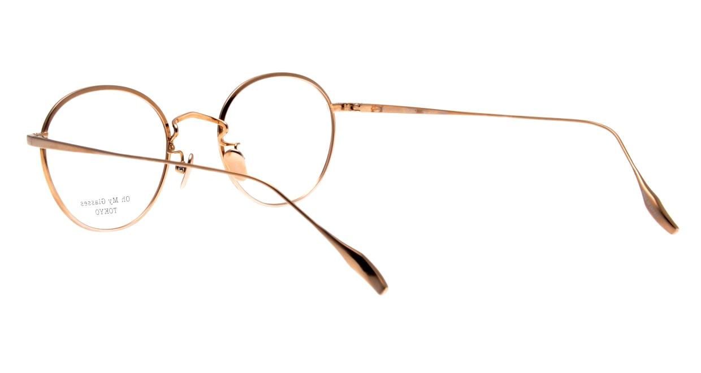Oh My Glasses TOKYO Wayne omg-124-DM-47 [メタル/鯖江産/丸メガネ/べっ甲柄]  3