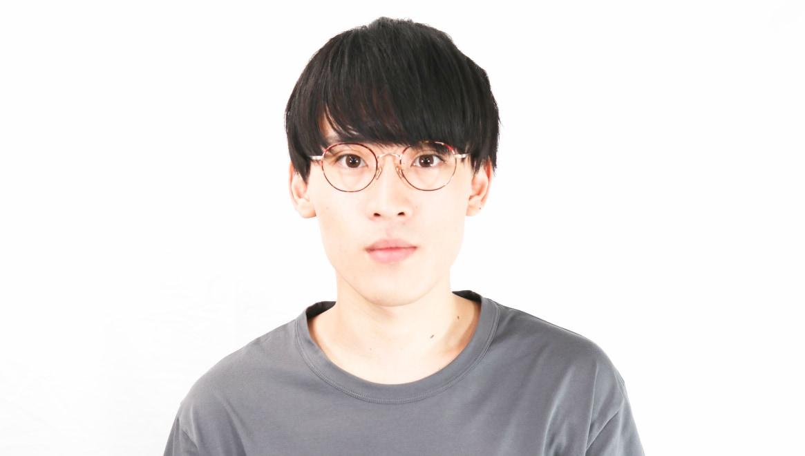 Oh My Glasses TOKYO Wayne omg-124-DM-47 [メタル/鯖江産/丸メガネ/べっ甲柄]  5
