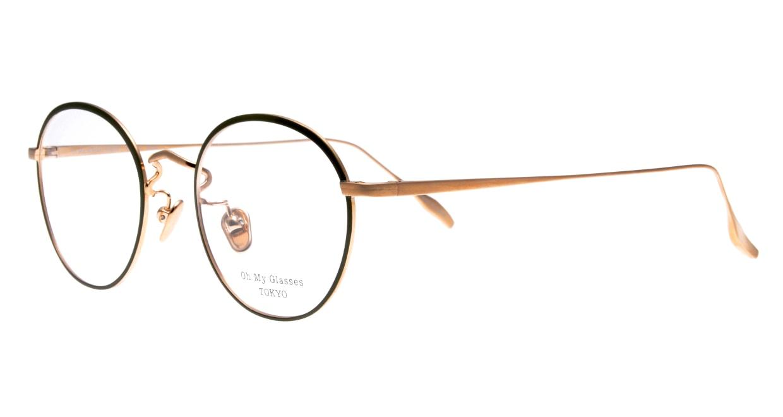 Oh My Glasses TOKYO Wayne-omg-124ーGRー47 [メタル/鯖江産/丸メガネ/緑]  1