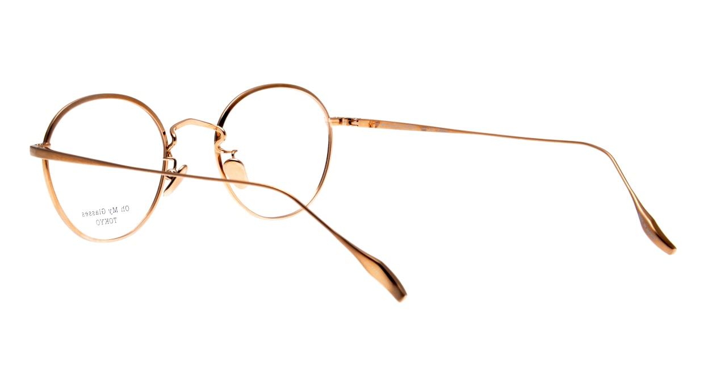 Oh My Glasses TOKYO Wayne-omg-124ーGRー47 [メタル/鯖江産/丸メガネ/緑]  3