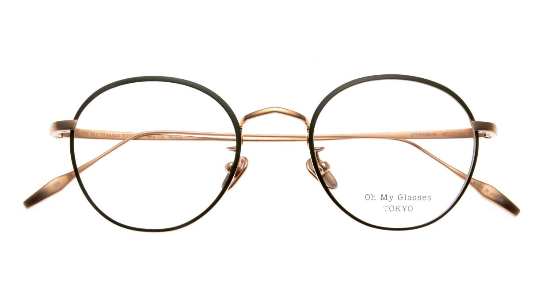 Oh My Glasses TOKYO Wayne-omg-124ーGRー47 [メタル/鯖江産/丸メガネ/緑]  4