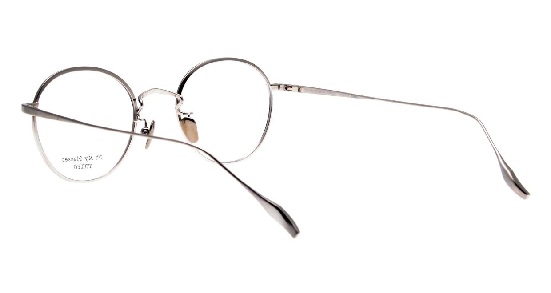 Oh My Glasses TOKYO Wayne omg-124-NV-47 [メタル/鯖江産/丸メガネ/青]  3