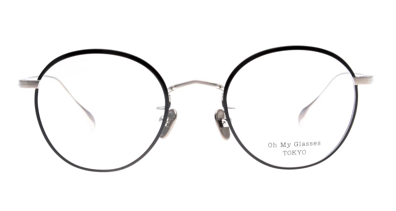 Oh My Glasses TOKYO Wayne-omg-124ーBKSー47 [メタル/鯖江産/丸メガネ]
