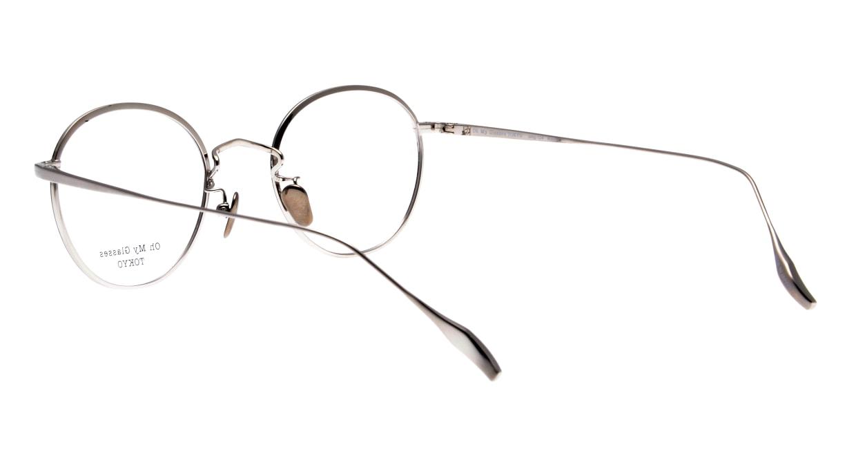 Oh My Glasses TOKYO Wayne-omg-124ーBKSー47 [メタル/鯖江産/丸メガネ]  3