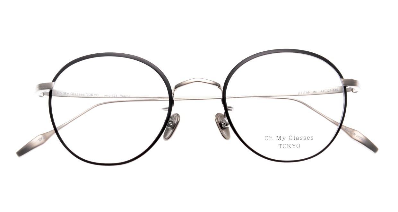 Oh My Glasses TOKYO Wayne-omg-124ーBKSー47 [メタル/鯖江産/丸メガネ]  4