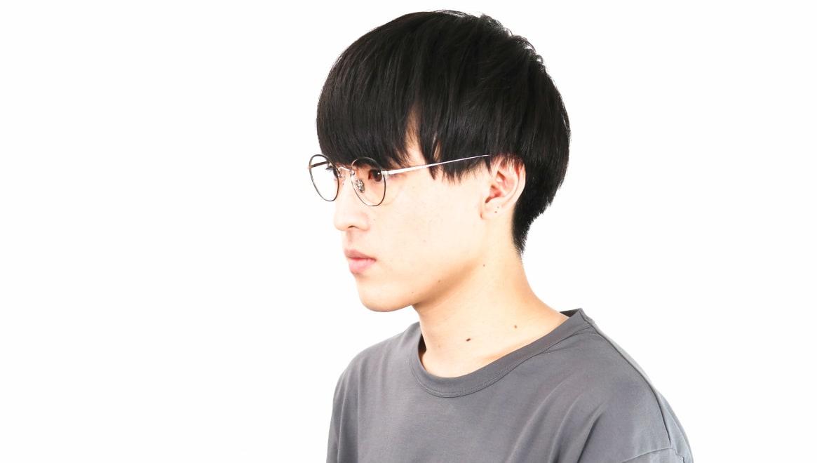 Oh My Glasses TOKYO Wayne omg-124-BKS-47 [メタル/鯖江産/丸メガネ]  6