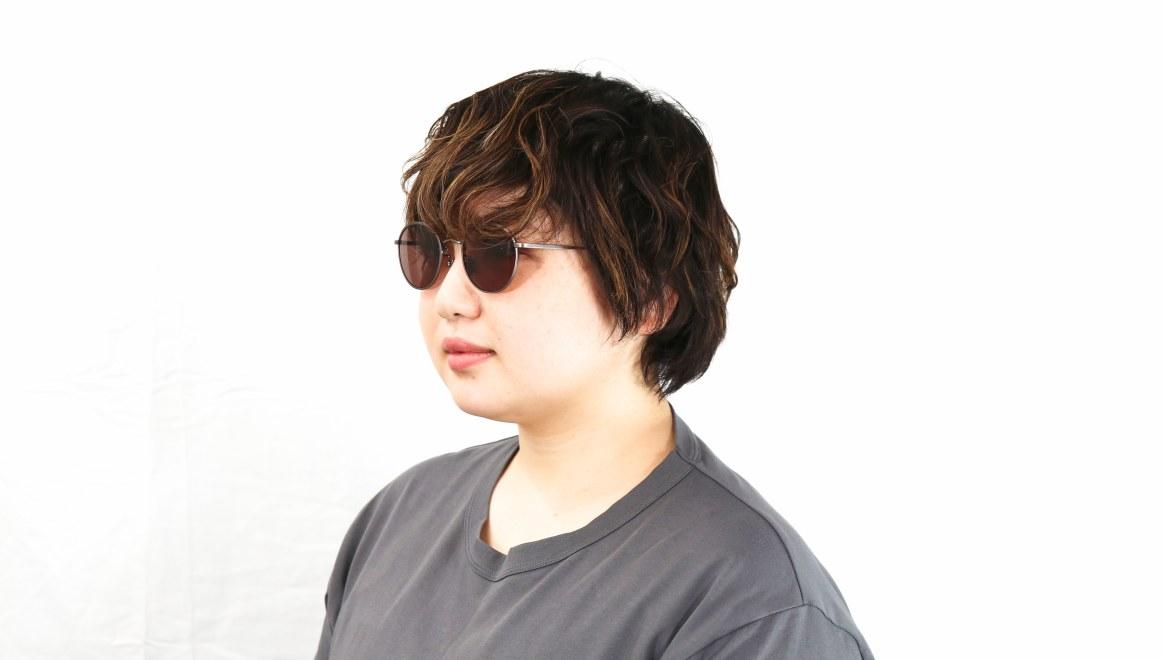 Oh My Glasses TOKYO Wayne omg-124-ATBR-47-sg [メタル/鯖江産/ボストン]  7