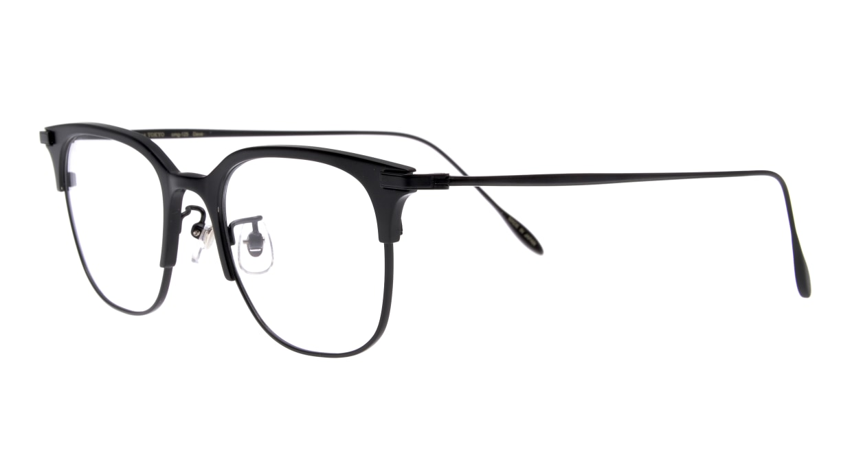 Oh My Glasses TOKYO Dave-omg-125ー BKMー50 [メタル/鯖江産/ウェリントン]  1