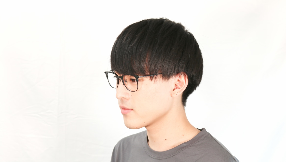 Oh My Glasses TOKYO Dave omg-125-BKM-50 [メタル/鯖江産/ウェリントン]  5