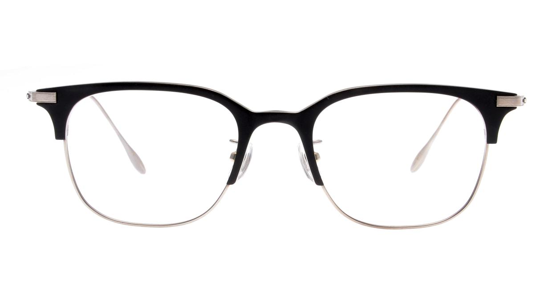 Oh My Glasses TOKYO Dave omg-125-BKM-SV-50 [メタル/鯖江産/ウェリントン]