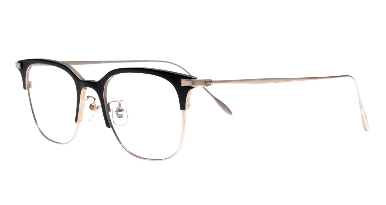 Oh My Glasses TOKYO Dave omg-125-BKM-SV-50 [メタル/鯖江産/ウェリントン]  1