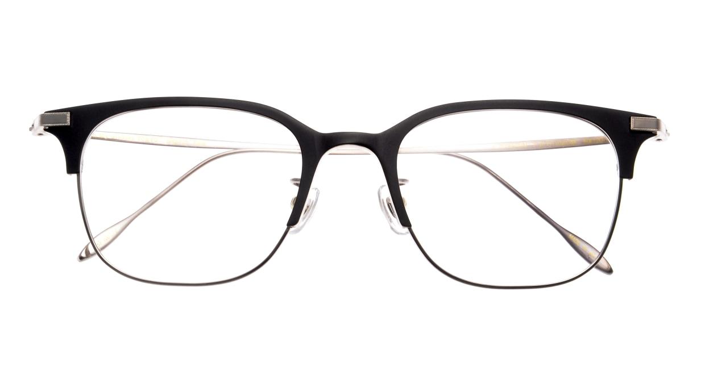 Oh My Glasses TOKYO Dave omg-125-BKM-SV-50 [メタル/鯖江産/ウェリントン]  3