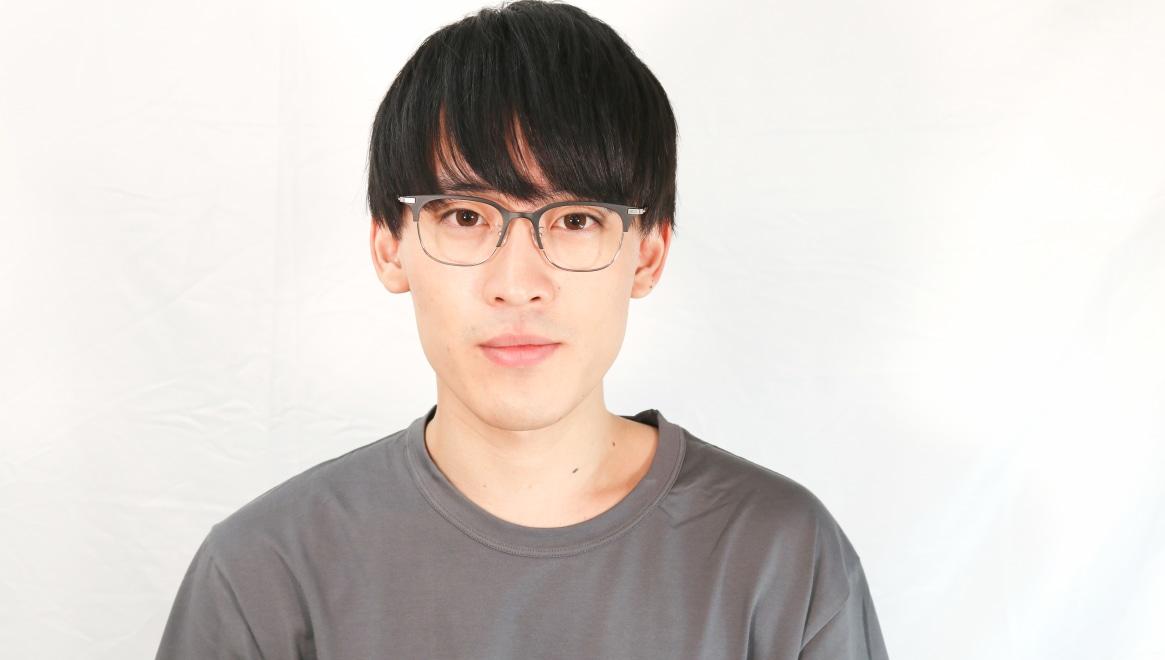 Oh My Glasses TOKYO Dave omg-125-BKM-SV-50 [メタル/鯖江産/ウェリントン]  4