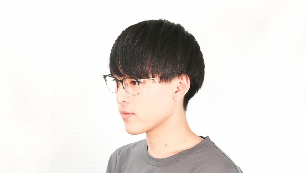 Oh My Glasses TOKYO Dave omg-125-BKM-SV-50 [メタル/鯖江産/ウェリントン]  5