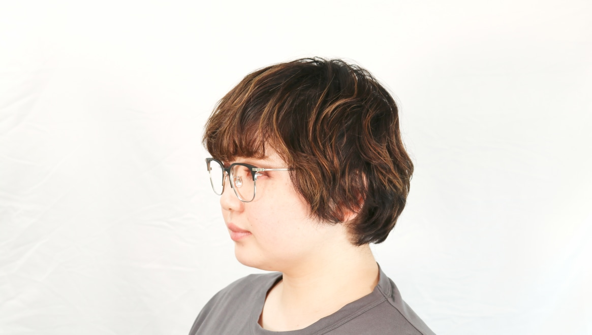 Oh My Glasses TOKYO Dave omg-125-BKM-SV-50 [メタル/鯖江産/ウェリントン]  7