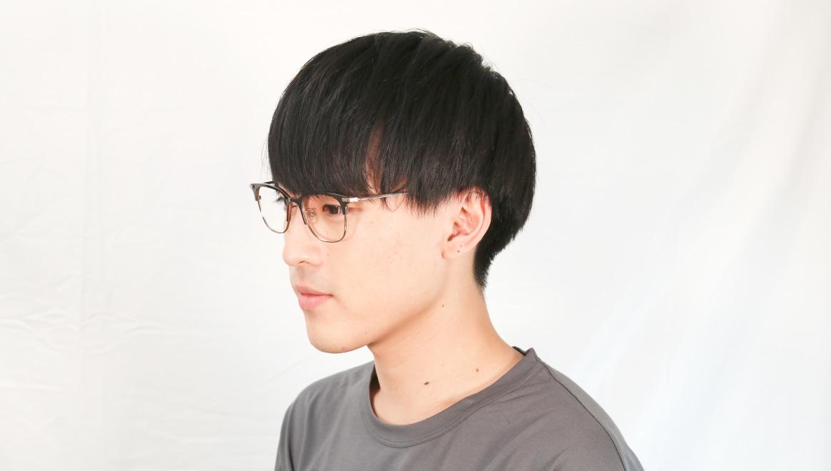 Oh My Glasses TOKYO Dave-omg-125ーBZー50 [メタル/鯖江産/ウェリントン/茶色]  5