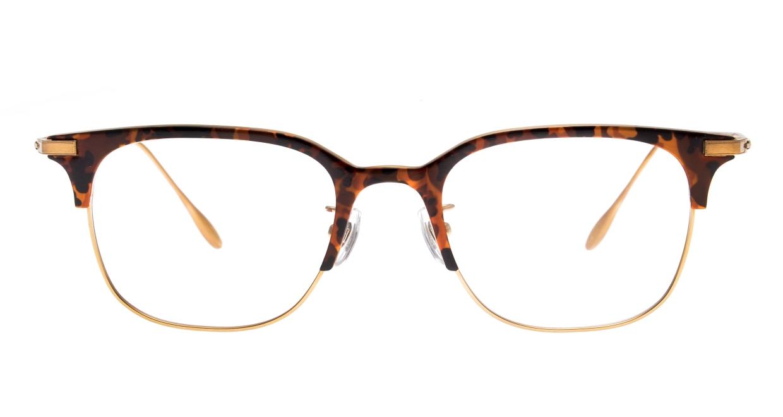 Oh My Glasses TOKYO Dave omg-125-Demi-50 [メタル/鯖江産/ウェリントン/べっ甲柄]