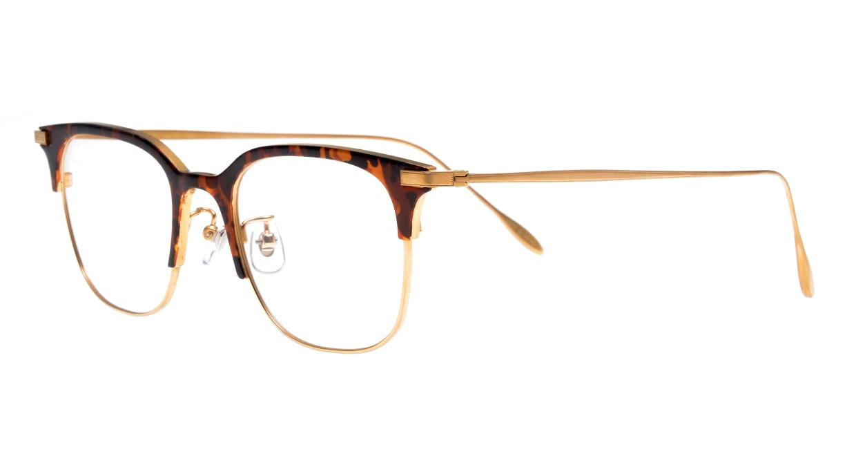 Oh My Glasses TOKYO Dave omg-125-Demi-50 [メタル/鯖江産/ウェリントン/べっ甲柄]  1