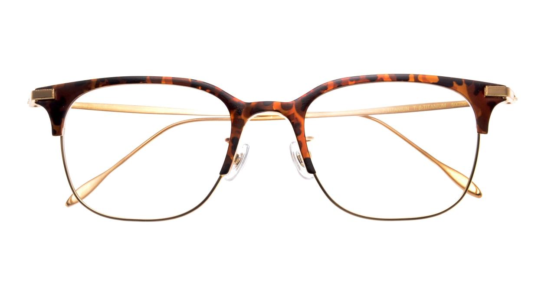 Oh My Glasses TOKYO Dave omg-125-Demi-50 [メタル/鯖江産/ウェリントン/べっ甲柄]  3