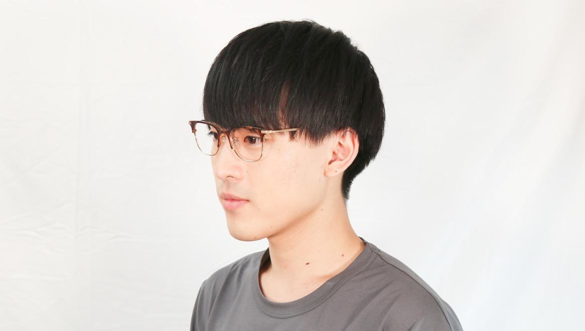 Oh My Glasses TOKYO Dave omg-125-Demi-50 [メタル/鯖江産/ウェリントン/べっ甲柄]  5