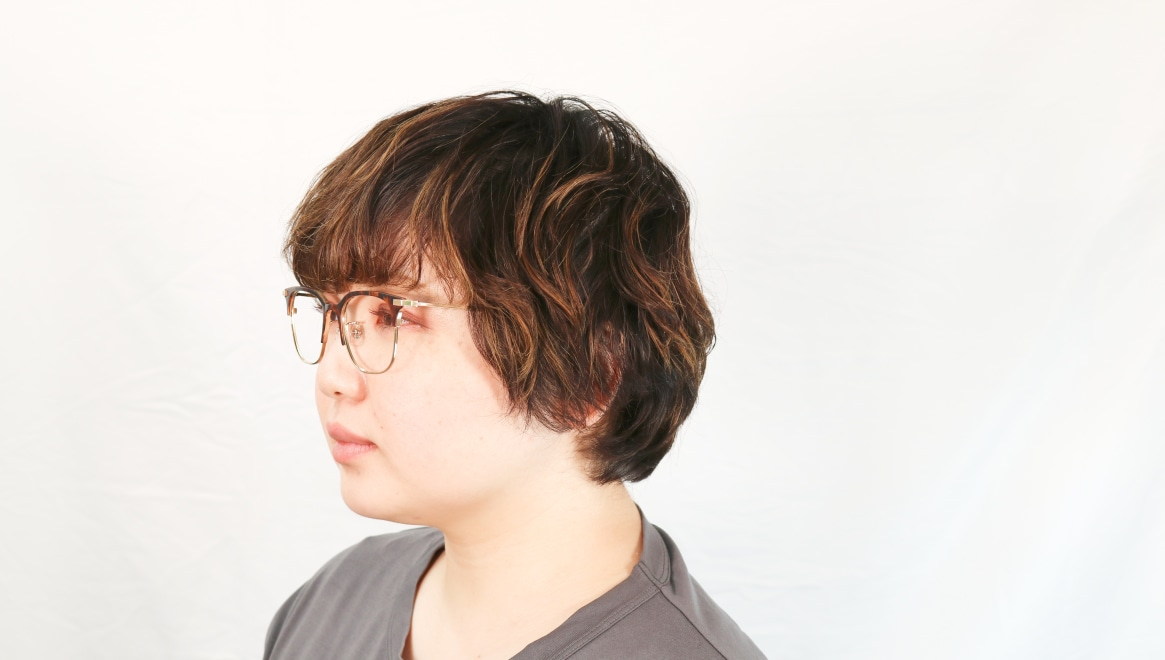 Oh My Glasses TOKYO Dave omg-125-Demi-50 [メタル/鯖江産/ウェリントン/べっ甲柄]  7