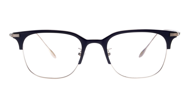 Oh My Glasses TOKYO Dave omg-125-NV-SV-50 [メタル/鯖江産/ウェリントン/青]