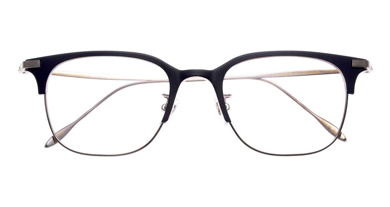 Oh My Glasses TOKYO Dave omg-125-NV-SV-50 [メタル/鯖江産/ウェリントン/青]  3