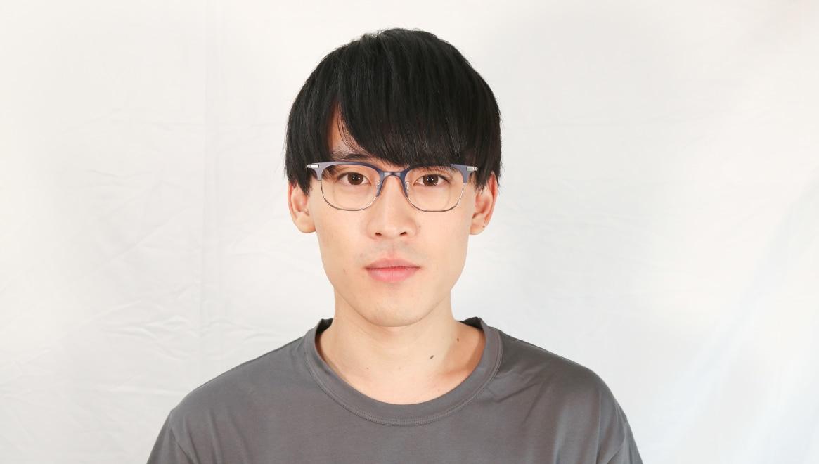 Oh My Glasses TOKYO Dave omg-125-NV-SV-50 [メタル/鯖江産/ウェリントン/青]  4