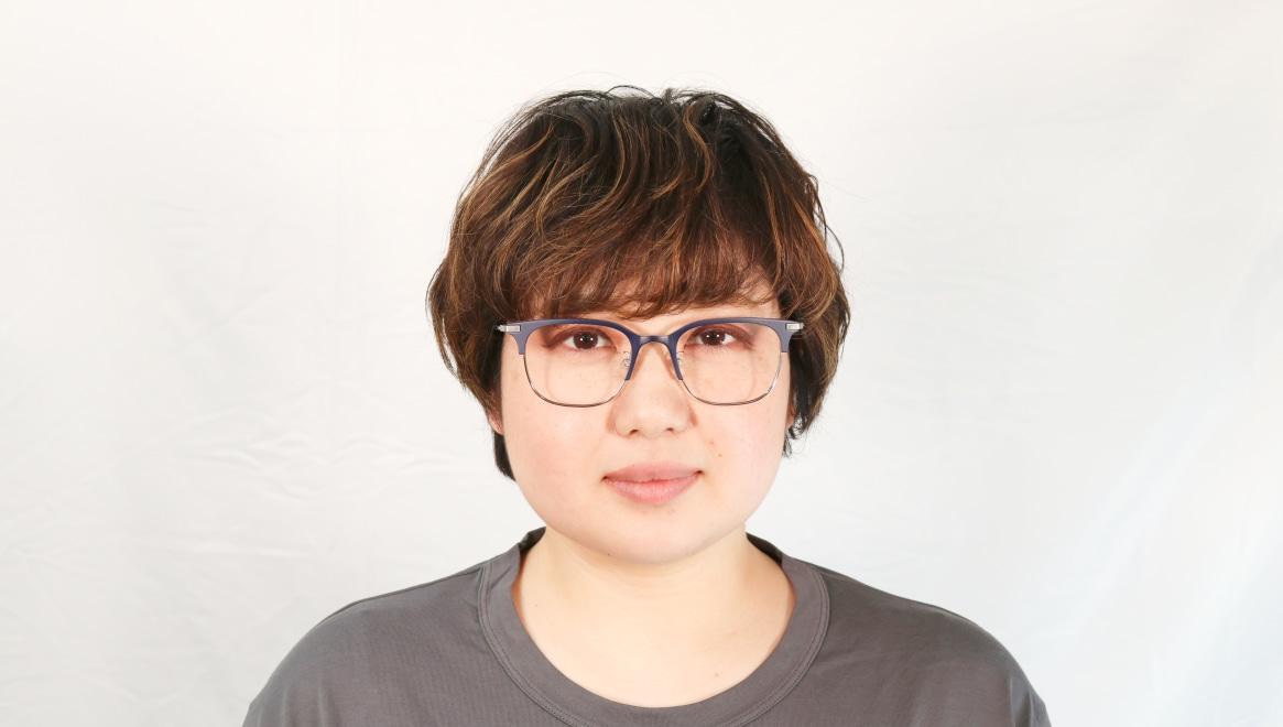 Oh My Glasses TOKYO Dave omg-125-NV-SV-50 [メタル/鯖江産/ウェリントン/青]  6
