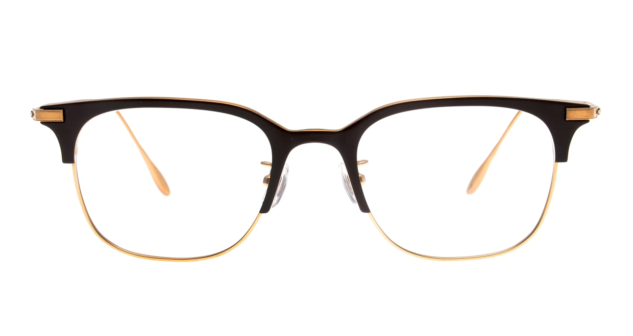 Oh My Glasses TOKYO Dave omg-125-BR-GD-50 [メタル/鯖江産/ウェリントン/茶色]