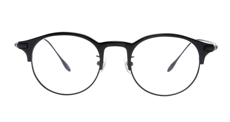 Oh My Glasses TOKYO Benny-omg-126ーBKMー47 [メタル/鯖江産/丸メガネ]