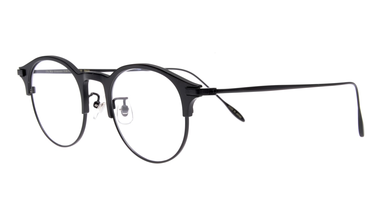 Oh My Glasses TOKYO Benny-omg-126ーBKMー47 [メタル/鯖江産/丸メガネ]  1