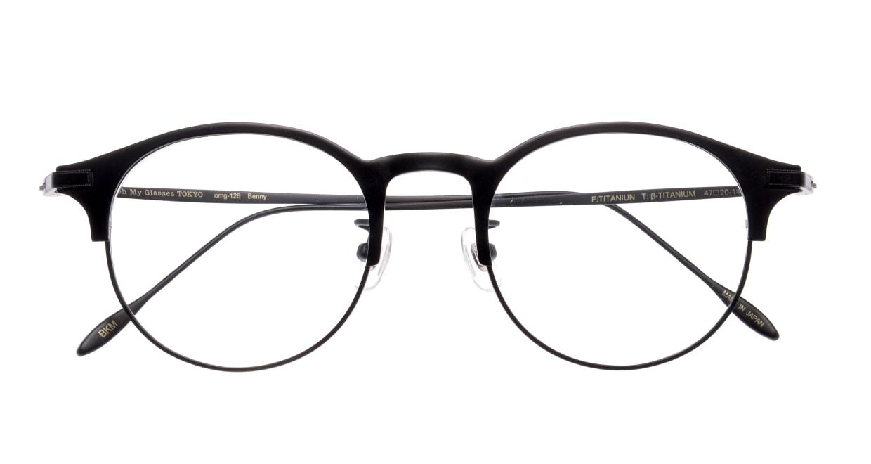 Oh My Glasses TOKYO Benny-omg-126ーBKMー47 [メタル/鯖江産/丸メガネ]  3