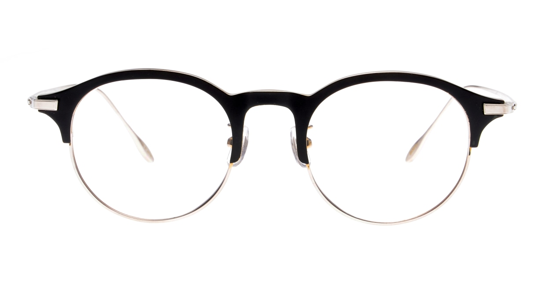 Oh My Glasses TOKYO Benny-omg-126ーBKSー47 [メタル/鯖江産/丸メガネ]