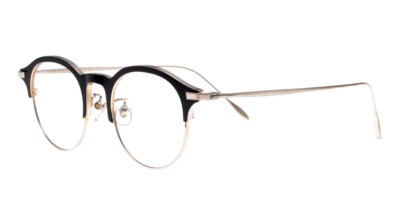 Oh My Glasses TOKYO Benny-omg-126ーBKSー47 [メタル/鯖江産/丸メガネ]  1